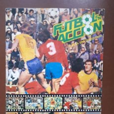 Coleccionismo Álbumes: ALBUM CROMOS FUTBOL EN ACCIÓN DANONE - INCOMPLETO. Lote 144661050