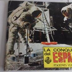 Coleccionismo Álbumes: ALBUM LA CONQUISTA DEL ESPACIO.VULCANO TOTALMENTE COMPLETO. Lote 44362411