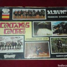 Coleccionismo Álbumes: ALBUM CONTAMOS CONTIGO DE 1968. Lote 145137958