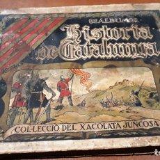 Coleccionismo Álbumes: HISTORIA DE CATALUNYA. XACOLATA JUNCOSA (ANYS 30). Lote 145417502