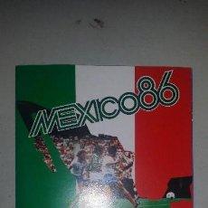 Coleccionismo Álbumes: ÁLBUM COCA COLA MÉXICO 86. Lote 180858227