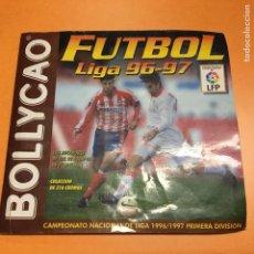 Coleccionismo Álbumes: ALBUM BOLLYCAO LIGA 96/97 SOLO FALTAN 5 CROMOS , BUEN ESTADO. Lote 146249086