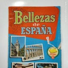 Coleccionismo Álbumes: ALBUM DE CROMOS BELLEZAS DE ESPAÑA. COLECCION CULTURA. 6ª SEXTA SERIE. SIN CROMOS. TDKC38. Lote 146492374
