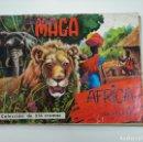 Coleccionismo Álbumes: ALBUM MAGA AFRICA Y SUS HABITANTES. FALTAN 29 DE 216 CROMOS. TDKC38. Lote 146495374