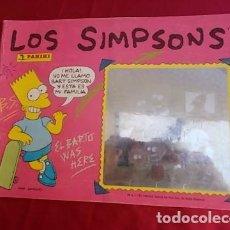 Coleccionismo Álbumes: ALBUM DE CROMOS. LOS SIMPSONS. INCOMPLETO . PANINI. FALTAN 42 CROMOS. Lote 146802078