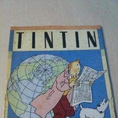 Coleccionismo Álbumes: ALBUM DE CROMOS TINTIN HERGE DE PANINI 1989. Lote 147562938