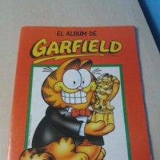 Coleccionismo Álbumes: ALBUM CROMOS EL ALBUM DE GARFIELD PANINI 1989. Lote 147675354
