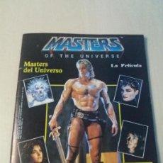 Coleccionismo Álbumes: ALBUM MASTERS OF THE UNIVERSE MASTERS DEL UNIVERSO LAPELICULA PANINI 1987 CON POSTER. Lote 147680818