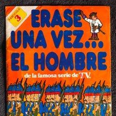 Coleccionismo Álbumes: ALBUM DE CROMOS ERASE UNA VEZ EL HOMBRE PANRICO FASCICULOS 3 Y 4. Lote 147842066