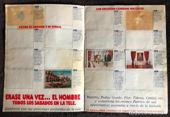 Coleccionismo Álbumes: ALBUM DE CROMOS ERASE UNA VEZ EL HOMBRE PANRICO FASCICULOS 3 Y 4 - Foto 4 - 147842066