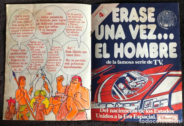 Coleccionismo Álbumes: ALBUM DE CROMOS ERASE UNA VEZ EL HOMBRE PANRICO FASCICULOS 3 Y 4 - Foto 5 - 147842066