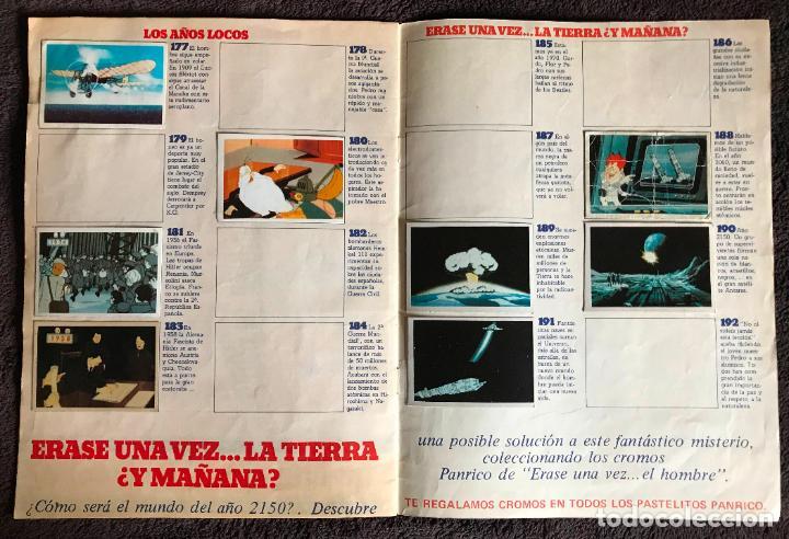 Coleccionismo Álbumes: ALBUM DE CROMOS ERASE UNA VEZ EL HOMBRE PANRICO FASCICULOS 3 Y 4 - Foto 8 - 147842066