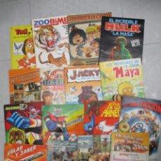 Coleccionismo Álbumes: LOTE DE 19 ALBUMES DE CROMOS INCOMPLETOS - MAZINGER Z - MAYA - HULK - MARCOS ...LOTE 2. Lote 148043490