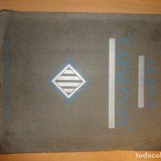 Coleccionismo Álbumes: ALBUM DE CROMOS DE ED VARIA 1933 CATALUNYA NO COMPLETO. Lote 148052110