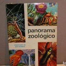 Coleccionismo Álbumes: ALBUM PANORAMA ZOOLOGICO SOLO FALTAN 4 CROMOS PERO EN BUENISIMO ESTADO VALE LA PENA COMPLETAR,BARATO. Lote 148095866