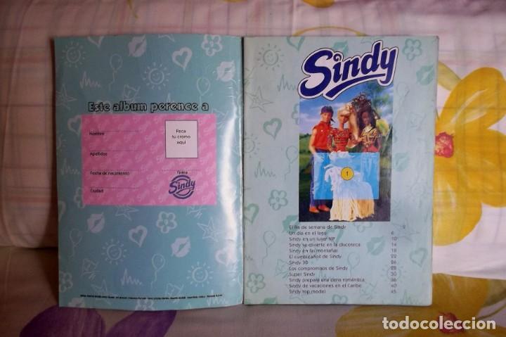 Coleccionismo Álbumes: ALBUM CROMOS SINDY-AÑO 95-INCOMPLETO - Foto 2 - 148578014