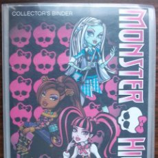 Coleccionismo Álbumes: MONSTER HIGH 108 PHOTOCARDS (COLECCION INCOMPLETA). Lote 148656518