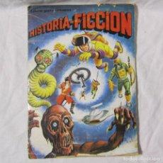 Coleccionismo Álbumes: ÁLBUM HISTORIA-FICCIÓN MAGA 1980. CONTIENE 196 CROMOS. TODAS LAS PÁGINAS FOTOGRAFIADAS. Lote 148687010