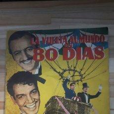 Collectionnisme Albums: ALBUM LA VUELTA AL MUNDO EN 80 DIAS ( FERMA) VER DESCRIPCION. Lote 149175680