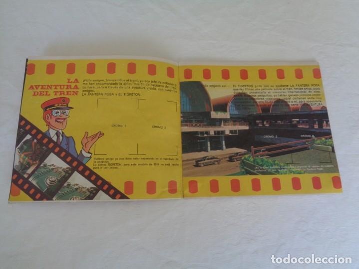 Coleccionismo Álbumes: ALBUM LA AVENTURA DEL TREN, BIMBO TIGRETON PANTERA ROSA - VACIO - 1975 - Foto 5 - 150051850