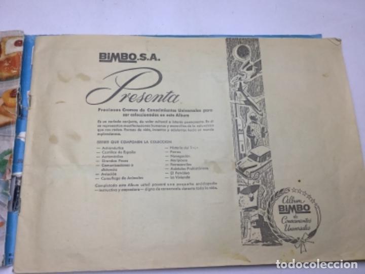Album incompleto bimbo - conocimientos universa - Sold at Auction