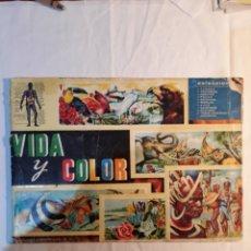 Coleccionismo Álbumes: ALBUM CROMOS VIDA Y COLOR.1965. FALTA EL CROMO 306.. Lote 150525985