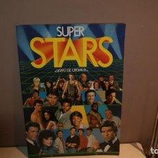 Coleccionismo Álbumes: ALBUM VACIO SUPER STARS PLANCHA,BARATO. Lote 150689562