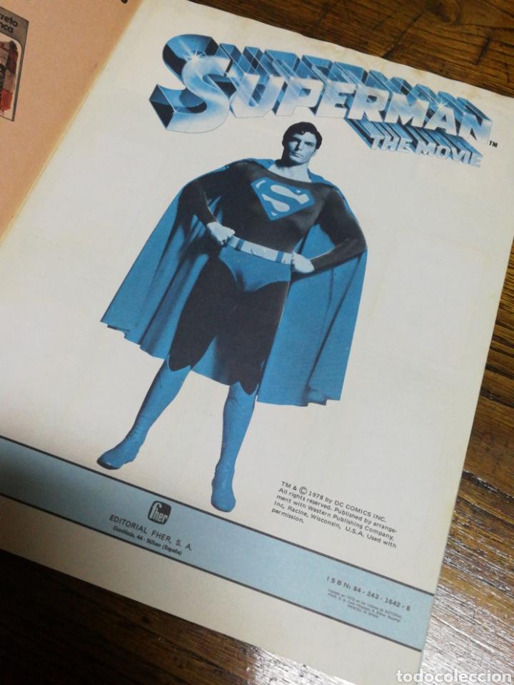 Coleccionismo Álbumes: ALBUM CROMOS SUPERMAN THE MOVIE- EDITORIAL FHER, 1978, CONTIENE 53 CROMOS Y POSTER CENTRAL. - Foto 2 - 150796340