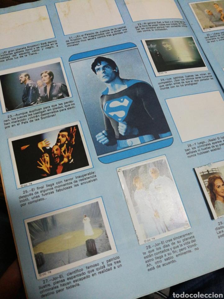 Coleccionismo Álbumes: ALBUM CROMOS SUPERMAN THE MOVIE- EDITORIAL FHER, 1978, CONTIENE 53 CROMOS Y POSTER CENTRAL. - Foto 4 - 150796340