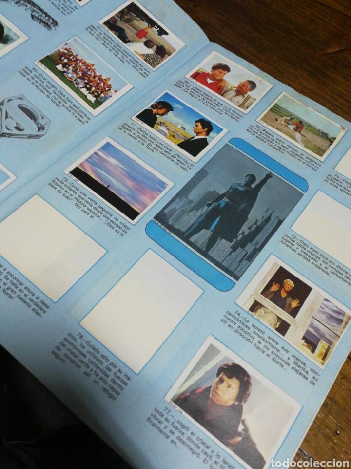 Coleccionismo Álbumes: ALBUM CROMOS SUPERMAN THE MOVIE- EDITORIAL FHER, 1978, CONTIENE 53 CROMOS Y POSTER CENTRAL. - Foto 5 - 150796340