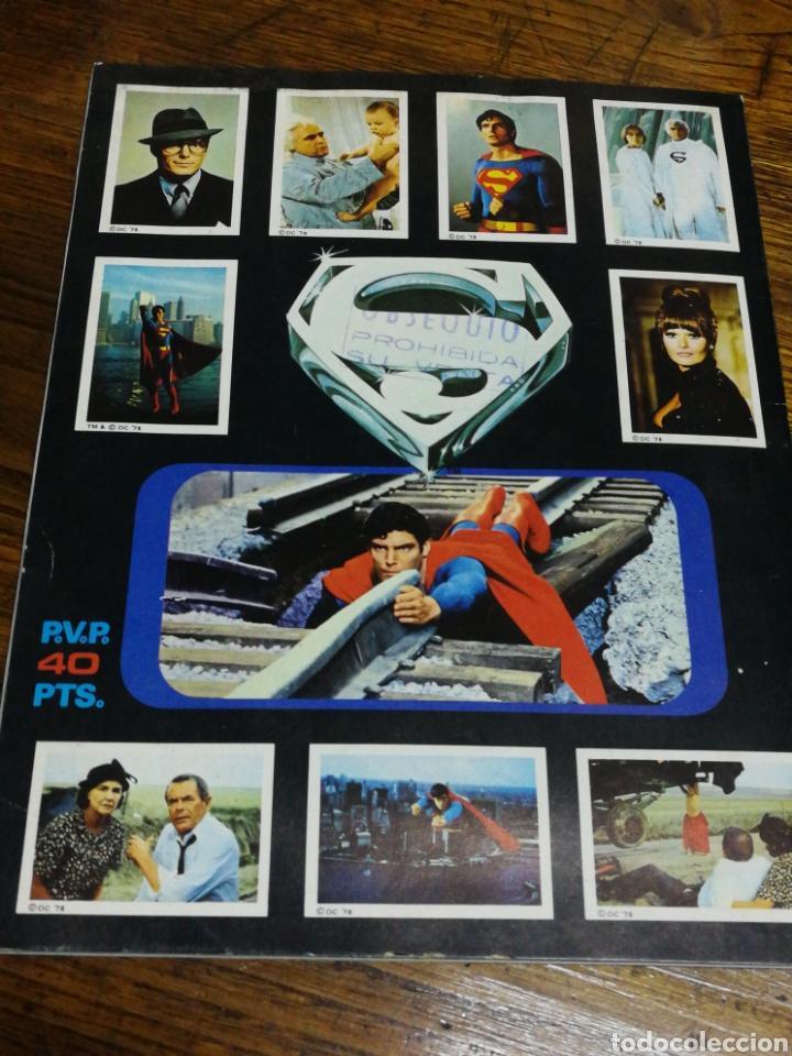 Coleccionismo Álbumes: ALBUM CROMOS SUPERMAN THE MOVIE- EDITORIAL FHER, 1978, CONTIENE 53 CROMOS Y POSTER CENTRAL. - Foto 7 - 150796340