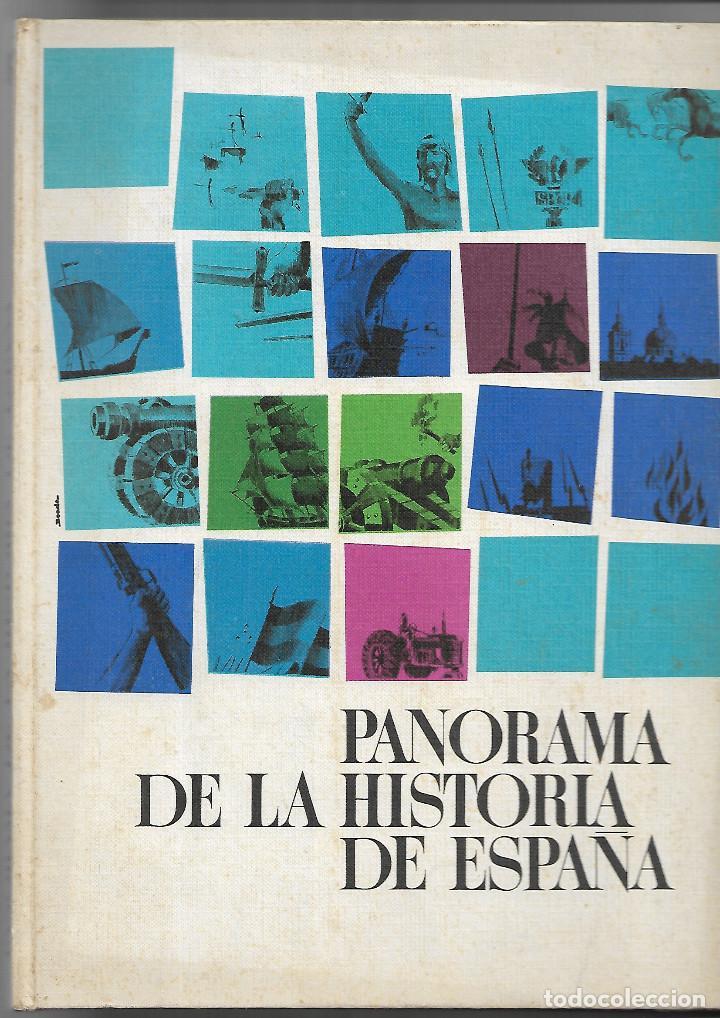 PANORAMA DE LA HISTORIA DE ESPAÑA, NESTLE (Coleccionismo - Cromos y Álbumes - Álbumes Incompletos)