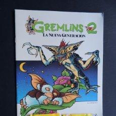 Coleccionismo Álbumes: GREMLINS 2 / ALBUM VACIO ( NUEVO - SIN USAR ) + 2 SOBRES DE CROMOS SIN ABRIR/ ANAYA 1990. Lote 151309430