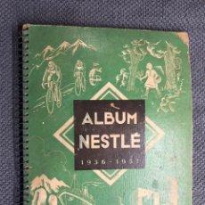 Coleccionismo Álbumes: CROMOS. ALBUM NESTLE 1936 - 1937 (TEXTOS EN FRANCÉS). Lote 151464004