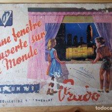 Coleccionismo Álbumes: ALBUM DE CROMOS PRADO UNE FENETRE OUVERTE SUR LE MONDE ALBUM Nº 2 COLLECTION CHOCOLAT PRADO. Lote 151504926