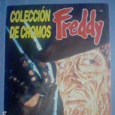 Coleccionismo Álbumes: FREDDY KRUGER KRUEGER ALBUM CASI PLANCHA COMPLETAMENTE VACIO SIN MARCAS CROMOS. Lote 211629597