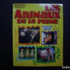 Coleccionismo Álbumes: ABRACAVARIOS. 'LES ANIMAUX DE LA FERME' (COLECCIÓN INCOMPLETA). Lote 151637646