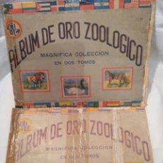 Coleccionismo Álbumes: ALBUM DE ORO ZOOLÓGICO, AÑO 1946, LA HABANA, LOS DOS TOMOS, ÚNICOS, VER. Lote 151666333