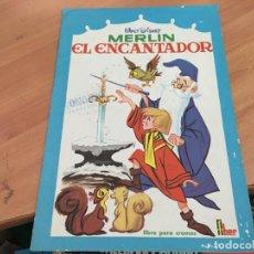 Coleccionismo Álbumes: MERLIN EL ENCANTADOR (ED. FHER) CON 23 CROMOS (COIM21). Lote 151897198