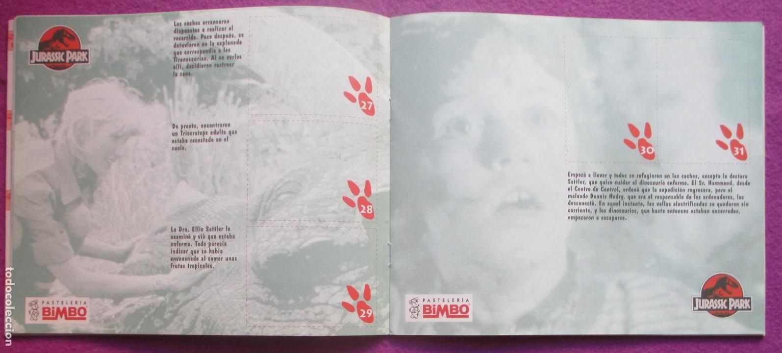 Album cromos dino album, jurassic park, bimbo, - Sold at Auction