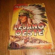 Coleccionismo Álbumes: LEJANO OESTE / ÁLBUM CON 78 CROMOS / EDICIONES GENERALES REVISTAS PASEO 1956. Lote 152205546