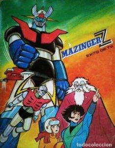 Mazinger Z 1978 Álbum de cromos antiguos