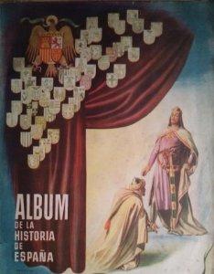 Álbum de la historia de españa. edad media. primera parte. cromos antiguos