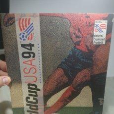 Coleccionismo Álbumes: ALBUM CROMOS WORLD CUP USA 94 UPPER DECK COLLECTOR'S CHOICE CON 120 CROMOS PEGADOS. Lote 152634946