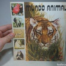 Coleccionismo Álbumes: ALBUM PLANCHA MUNDO ANIMAL FHER VACÍO. Lote 152635141