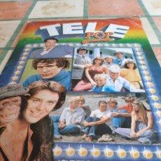 Coleccionismo Álbumes: ALBUM TELE POP EDICIONES ESTE, AÑOS 80 - FALTAN 6 CROMOS DE 196. Lote 152667094