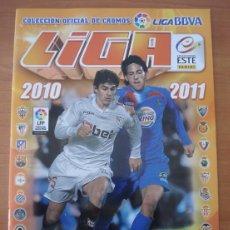 Coleccionismo Álbumes: ALBUM LIGA ESTE 2010-2011. CROMOS FUTBOL. LIGA ESPAÑOLA.. Lote 152776546