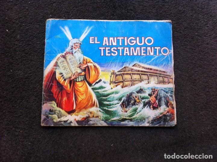 ÁLBUM DE CROMOS INCOMPLETO (EL ANTIGUO TESTAMENTO) 1972. (FALTAN 9 CROMOS DE 247) (Coleccionismo - Cromos y Álbumes - Álbumes Incompletos)