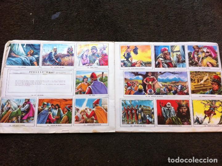 Coleccionismo Álbumes: ÁLBUM DE CROMOS INCOMPLETO (EL ANTIGUO TESTAMENTO) 1972. (FALTAN 9 CROMOS DE 247) - Foto 3 - 153187230