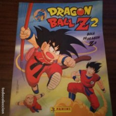 Coleccionismo Álbumes: ÁLBUM DRAGON BALL Z 2 BOLA DE DRAGÓN PANINI CON 59 CROMOS. Lote 153584982
